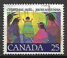 CANADA    -    Christmas  /  Noël  /  Indiens  -    Oblitéré - 1952-.... Règne D'Elizabeth II