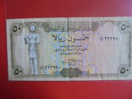 YEMEN 50 RIALS 1993-94 CIRCULER - Yemen