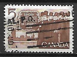 CANADA    -    Conférence De Londres En 1866    -    Oblitéré - 1952-.... Règne D'Elizabeth II