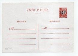 - LIBÉRATION / ORLEANS - Entier Postal Neuf N° 1E - 1 F. 20 Brun-rouge Surcharge RF Encre Brillante - Cote 90 EUR - - Liberation