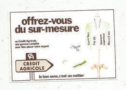 Autocollant , Banque ,  CREDIT AGRICOLE , Offrez Vous Du Sur-mesure - Adesivi