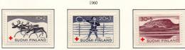 PIA - FINLANDIA  - 1960 : Pro Croce Rossa - Scene Di Vita Della Lapponia - (Yv 504-06) - Primo Soccorso