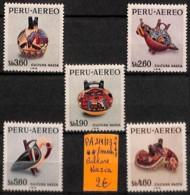 D - [821249]TB//**/Mnh-Perou 1968 - PA219/23, Nazca, Cultures - Pérou