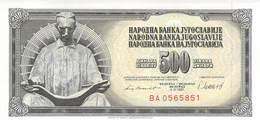 500 Dinara Jugoslawien 1965 - Jugoslawien