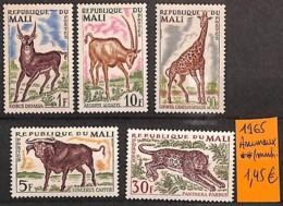 D - [821355]TB//**/Mnh-Mali 1965 -  Animaux - Mali (1959-...)