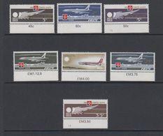 Malta 1974 Air Malta 7v (+margin) ** Mnh (42796A) - Malta