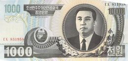 1000 Won Nordkorea 2006 - Korea, North