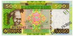 GUINEA 500 FRANCS 2017 Pick New Unc - Guinea