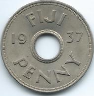 Fiji - George VI - 1937 - Penny - KM7 - Figi