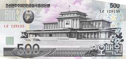 500 Won Nordkorea 2007 - Korea (Nord-)