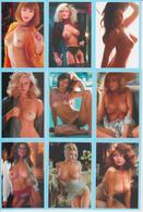 @CALENDAR - EROTIC - NUDE WOMAN - SET OF 18 POCKET CALENDARS - PLAYMATES 1970-1995 - 2018 - CZECH REPUBLIC - Calendars