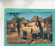 AFRIQUE EN COULEURS SCENE VILLAGEOISE - Other