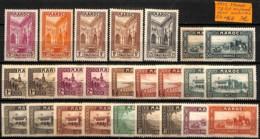 D - [835784]TB//**/Mnh-c:16e-France (colonies) 1933 - Maroc, Tb Lot **/mnh Dont Nuances - Maroc (1891-1956)