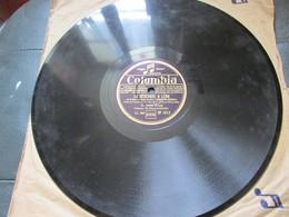 78 Tours  Tino Rossi - La Serenade A Lena - Un Violon Dans La Nuit - Df 1817 - 78 T - Disques Pour Gramophone
