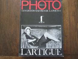 PHOTO PRESENTE LES GRANDS MAITRES DE LA PHOTO 1 ALBUM LARTIGUE - Art
