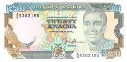 20 Kwacha Banknote Bank Of Zambia - Sambia