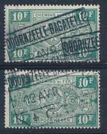 "TR 162 (2x) - ""DOORNZEELE-BAGATELLE - G.T."" - (ref. LVS-27.309) - 1923-1941"