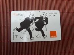 Tintin Prepaidcard  1000 BEF Used Rare - BD