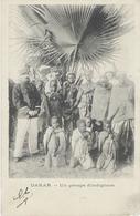 SÉNÉGAL - Dakar Un Groupe D'indigènes 1905 - - Senegal