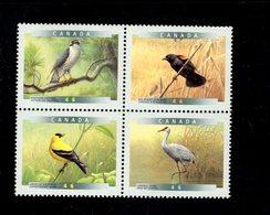 770128964 1999 SCOTT 1773A  POSTFRIS  MINT NEVER HINGED EINWANDFREI  (XX) - BIRDS CRANE GOLFINCH BLACKBIRD GOSHAWK - 1952-.... Règne D'Elizabeth II