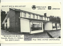WOODCOURTE - TIMOLIN - MOONE - CO. KILDARE / SELECT BED & BREADFAST - Dublin