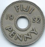 Fiji - George VI - 1952 - Penny - KM17 - Figi