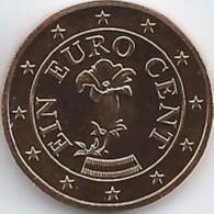 Oostenrijk 2019      1 Cent      UNC Uit De Rol  UNC Du Rouleaux  !! - Austria
