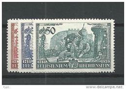 1939 MNH,  Liechtenstein, Postfris - Nuovi