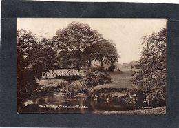 OLD MALDEN THE BRIDGE, Old Malden Fields  A S N° 258  CPA Année 1906 - London Suburbs
