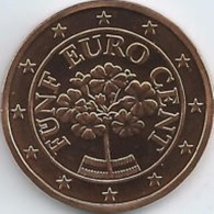 Oostenrijk 2019      5 Cent      UNC Uit De Rol  UNC Du Rouleaux  !! - Austria