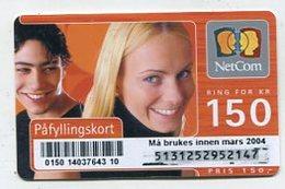 TK 07377 NORWAY - Prepaid - Norway
