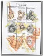Comoren 1999, Postfris MNH, Primats, Monkeys - Comoros