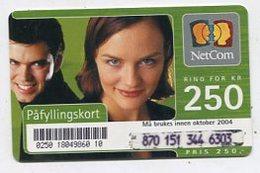 TK 07378 NORWAY - Prepaid - Norway