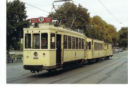 ANDERLUES - LOBBES - THUIN - Tramway Historique Au Terminus De Thuin - Lobbes