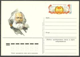 RUSSIA USSR - Postcard - 1983 - Karl Marx - Unclassified