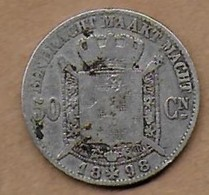50 Centimes Argent 1898 FL - 1865-1909: Leopold II