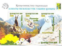 2018. Kazakhstan. RCC, Almaty Nature Reserve, S/s, Mint/** - Kazakhstan