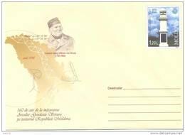 "2008. Moldova, Prep. Env. ""Fr. Georg Von Struve, Scientist, Land-surveyingman"",  Mint/** - Moldova"