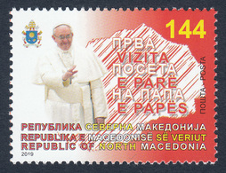 North Macedonia 2019 Visit Of The Pope Francis To North Macedonia Vatican Religion Christianity MNH - Macedonia