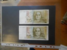 GERMANY    1991   1996    50  MARKS   BILLETS - 50 Deutsche Mark