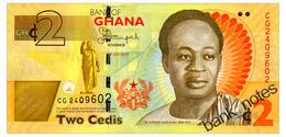 GHANA 2 CEDIS 2015 Pick 37Ad Unc - Ghana