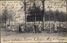 Cp Rambervillers Vosges, La 4e Compagnie, Excercice De Pointage - France