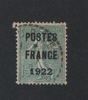 Faux Préoblitéré N° 37 15 C Semeuse Poste France 1922 - 1893-1947