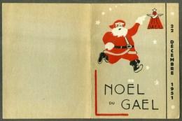 CHAVILLE - 1951 - NOEL DU GAEL - Transport And Air Travel 2/60 (GTLA) AVIATION - Biglietti D'ingresso