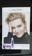 Lancome Make Up Cosmetique Card - Perfume Cards