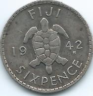 Fiji - George VI - 1942 - 6 Pence - KM11a - Figi