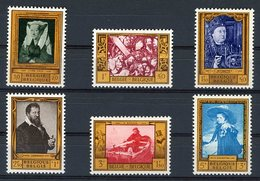 BELGIQUE 1958 N° 1076 à 1081 Série Complète Neuve Sans Charnières ** (MNH). TB. Cote 15 € - Belgique