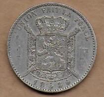 1 Franc Argent 1886 FR - 1865-1909: Leopold II