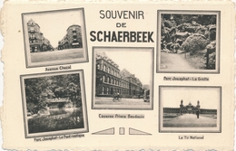 CPA - Belgique - Brussels - Bruxelles - Souvenir De Schaerbeek - Schaarbeek - Schaerbeek