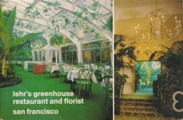 UNITED STATES AMERICA   SAN FRANCISCO  Lehr's Greenhouse Restaurant And Florist - Hotels & Restaurants
